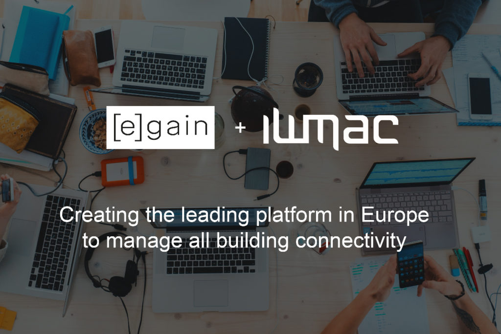 Property management specialists IWMAC and Egain are now joining forces to become leaders within proptech in Europe.