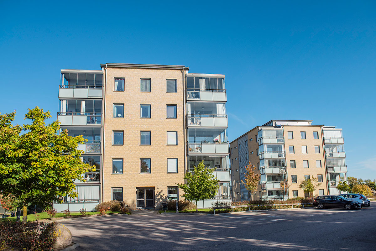 Kapellvägen 1 in Kävlinge is one of the properties that is now equipped with Edge AI through existing infrastructure